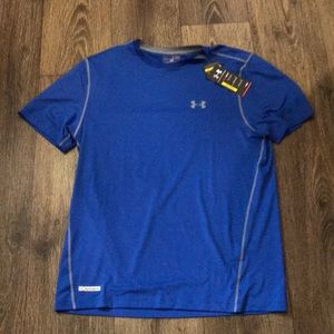 Under Armour fitted size XL blue shirt